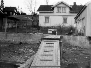 Huset til Edvard Martinsen, Hullberget