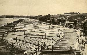Vesten lense 1900