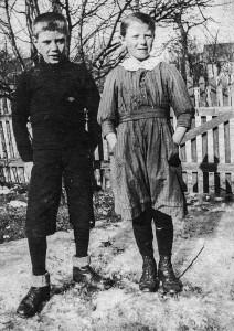 Sverre Martinsen og Hjørdis Martinsen, Horten. (Utlånt av Oddveig Lehne).