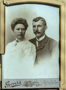 Jørgen Martinsen og Josefine Helene.