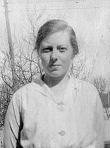 Margit Sofie Martinsen 1892-1916. (Utlånt av Arne Amundsen)