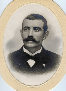 Petter Anton Martinsen, 1868 Borge -1911 Horten. (Utlånt av Oddveig Lehne).