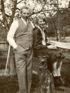 Thorleif og Ingrid Martinsen, Horten. (Utlånt av Oddveig Lehne).