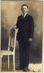 Johannes Karlsen, konfirmant