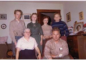 Familien Sverre Carlsen, Canada.
